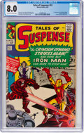 Silver Age (1956-1969):Superhero, Tales of Suspense #52 (Marvel, 1964) CGC VF 8.0 Off-white to whitepages....