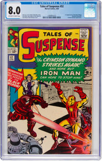 Tales of Suspense #52 (Marvel, 1964) CGC VF 8.0 Off-white to white pages