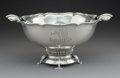 Silver & Vertu:Hollowware, An M. Fred Hirsch Co. Silver Pedestal Bowl, Jersey City, New Jersey, circa 1930. Marks: (crown-H-shield), STERLING. 7-1/...