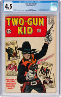 Silver Age (1956-1969):Western, Two-Gun Kid #60 (Marvel, 1962) CGC VG+ 4.5 Off-white pages....