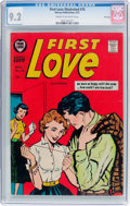 Silver Age (1956-1969):Romance, First Love Illustrated #76 File Copy (Harvey, 1957) CGC NM- 9.2Cream to off-white pages....