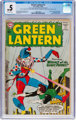 Green Lantern #1 Incomplete (DC, 1960) CGC PR 0.5 Off-white pages