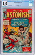Silver Age (1956-1969):Superhero, Tales to Astonish #46 (Marvel, 1963) CGC VF 8.0 Off-white pages....