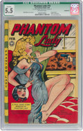 Golden Age (1938-1955):Crime, Phantom Lady #16 (Fox Features Syndicate, 1948) CGC Qualified FN- 5.5 Off-white pages....