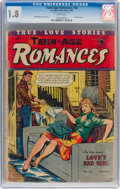 Golden Age (1938-1955):Romance, Teen-Age Romances #36 (St. John, 1954) CGC GD- 1.8 White pages....