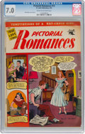 Golden Age (1938-1955):Romance, Pictorial Romances #13 (St. John, 1952) CGC FN/VF 7.0 Cream tooff-white pages....