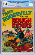 Golden Age (1938-1955):Non-Fiction, Teddy Roosevelt & His Rough Riders #1 Mile High Pedigree (Avon,1950) CGC NM 9.4 Off-white to white pages....