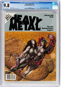 Heavy Metal #47 (HM Communications, 1981) CGC NM/MT 9.8 White pages