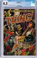 Golden Age (1938-1955):Horror, The Thing! #11 (Charlton, 1953) CGC VG+ 4.5 Off-white to white pages....