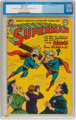 Superman #87 (DC, 1954) CGC VF- 7.5 Off-white to white pages