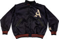 Baseball Collectibles:Uniforms, Circa 1960 Kansas City Athletics Game Worn Jacket....