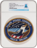 Explorers:Space Exploration, Space Shuttle: Discovery STS-51-A Swissartex Emblem Inc. Mission Insignia Patch Directly From The Armstrong Family...