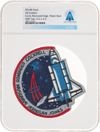 Space Shuttle: Columbia STS-80 AB Emblem Mission Insignia Patch Directly From The