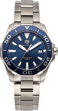 Timepieces:Wristwatch, TAG Heuer Aquaracer Quartz Ref WAY111C. ...