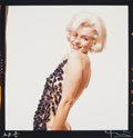 , Bert Stern (American, 1929-2013). Marilyn Monroe with ChenilleScarf (from The Lost Sitting), 1962. Dye coupler, 2000. 2...