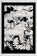 Original Comic Art:Panel Pages, Rags Morales and Michael Bair Hawkman #11 Story Page 17Original Art (DC, 2003)....