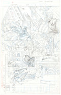 Original Comic Art:Miscellaneous, Lan Medina Cable and Deadpool #25 Story Page 11 (MarvelComics, 2006)...