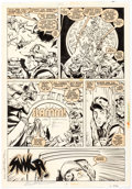 Original Comic Art:Panel Pages, Marc Silvestri and Dan Green The Uncanny X-Men #236 StoryPage 2 Original Art (Marvel Comics, 1988)....