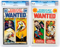 Bronze Age (1970-1979):Superhero, Wanted, The World's Most Dangerous Villains #7 and 9 CGC-Graded Group (DC, 1973) CGC NM/MT 9.8.... (Total: 2 Comic Books)
