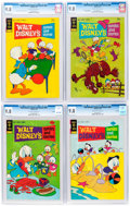 Bronze Age (1970-1979):Cartoon Character, Walt Disney's Comics and Stories CGC-Graded File Copies Group of 4 (Dell, 1974) CGC NM/MT 9.8.... (Total: 4 Comic Books)