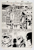 Original Comic Art:Panel Pages, John Byrne and Bob Wiacek Alpha Flight #26 Story Page 20Original Art (Marvel, 1985)....