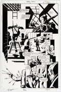 Original Comic Art:Panel Pages, Phil Hester and Ande Parks Green Arrow #2 Story Page 16Original Art (DC, 2001)....