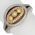 Estate Jewelry:Rings, Colored Diamond, Diamond, Gold Ring, Simon G.. ...