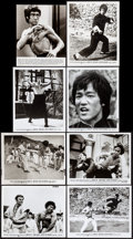 "Movie Posters:Action, Enter the Dragon (Warner Brothers, 1973). Photos (15) (8"" X 10""). Action.. ... (Total: 15 Items)"