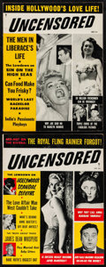 """Movie Posters:Exploitation, Uncensored (Plaza Digest, 1955 & 1956). Magazines (2) (Multiple Pages, 8.25"""" X 10.5""""). Exploitation.. ... (Total: 2 Items)"""