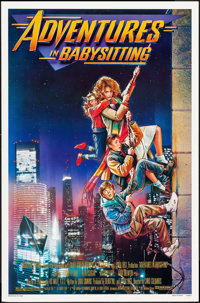 "Adventures in Babysitting (Touchstone, 1987). One Sheet (27"" X 41"") SS, Drew Struzan Artwork. Adventure"