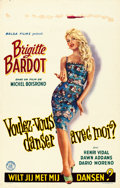 """Movie Posters:Foreign, Come Dance with Me! (Belga Films, 1959). Belgian (14"""" X 22"""").. ..."""