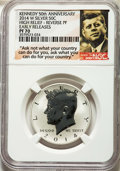 Proof Kennedy Half Dollars, 2014-W 50C Reverse Proof, 50th Anniversary, Early Releases, PR70 NGC. NGC Census: (0). PCGS Population: (2701)....