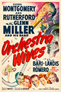 Movie Posters:Musical, Orchestra Wives (20th Century Fox, 1942). One Shee...