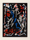 Prints & Multiples, A. R. Penck (1939-2017). Mul, Bul, Dang & Sentimentality, from Official Arts Portfolio of the XXIVth Olympiad, Seoul, ...