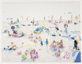Prints & Multiples, Massimo Vitali (b. 1944). Amadores 2, from A Portfolio of Landscapes and Figures, 2006. Offset lithograph in colors ...