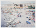 Prints & Multiples, Massimo Vitali (b. 1944). Marina di Massa, from A Portfolio of Landscapes and Figures, 2006. Offset lithograph in co...