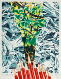 Prints & Multiples, James Rosenquist (1933-2017). Katonah Muse, 1993. Offset lithograph in colors on paper. 26-3/4 x 19-1/4 inches (67.9 x 4...