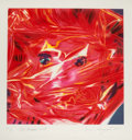 Prints & Multiples, James Rosenquist (1933-2017). Gift Wrapped Doll, 1993. Lithograph in colors on wove paper. 24 x 24 inches (61 x 61 cm) (...