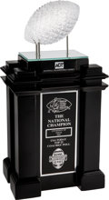 Football Collectibles:Others, 2005 University of Texas Longhorns Replica National Championship Trophy. ...