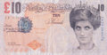 Prints & Multiples:Print, Banksy X Banksy of England. Di-Faced Tenner, 10 GBP Note, 2005. Offset lithograph in colors on paper. 3 x 5-5/8 inches (...