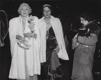 Weegee (American, 1899-1968) The Critic, (Mrs. Leonora Warner and Her Mother, Mrs. George Washington Cavanau