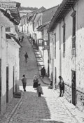 Photographs, Edouard Boubat (French, 1923-1999). Peru, 1975. Gelatin silver, printed later by Pierre Gassmann. 14 x 9-7/8 inches (35....