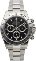 Timepieces:Wristwatch, Rolex Unused Ref. 116520 Oyster Perpetual Cosmograph Daytona, circa 2012. ...