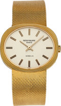 Timepieces:Wristwatch, Patek Philippe Ref. 3581-1 Yellow Gold Watch For Gubelin, circa 1970's. ...