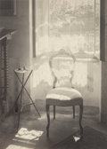 Photographs:Gelatin Silver, Josef Sudek (Czechoslovakian, 1896-1976). At the Janacek's, 1948. Gelatin silver. 6-1/4 x 4-1/2 inches (15.9 x 11.4 cm)...