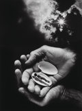 Photographs, Jerry Uelsmann (American, b. 1934). Untitled (Hands and Shell), 1987. Gelatin silver. 19-1/4 x 14-1/2 inches (48.8 x 36....