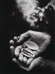 Jerry Uelsmann (American, b. 1934) Untitled (Hands and Shell), 1987 Gelatin silver 19-1/4 x 14-1/2 inches (48.8 x 36