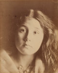 , Julia Margaret Cameron (British, 1815-1879). Kate Keown,1866. Albumen. 13-3/4 x 11 inches (34.9 x 27.9 cm). Signed and ...