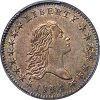 1794 50C O-101, T-7, High R.3, MS61 PCGS Secure....(PCGS# 39200)
