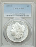 Morgan Dollars: , 1880-S $1 MS66 PCGS. PCGS Population: (11159/2505). NGC Census: (11743/3500). MS66. Mintage 8,900,000. ...